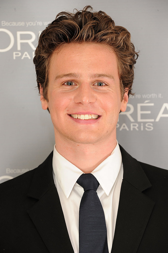 Jonathan Groff was a presenter at the 2011 Glamour Women of the Year Awards.