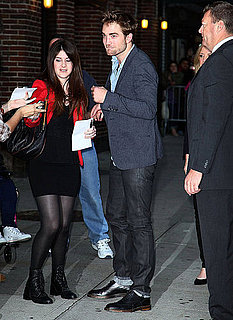 Robert Pattinson Talks Breaking Dawn on Late Show Pictures