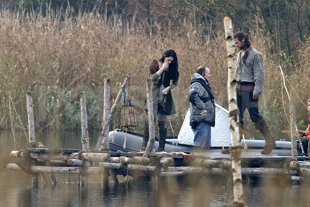 Kristen Stewart and Chris Hemsworth were together for Snow White and the Huntsman.