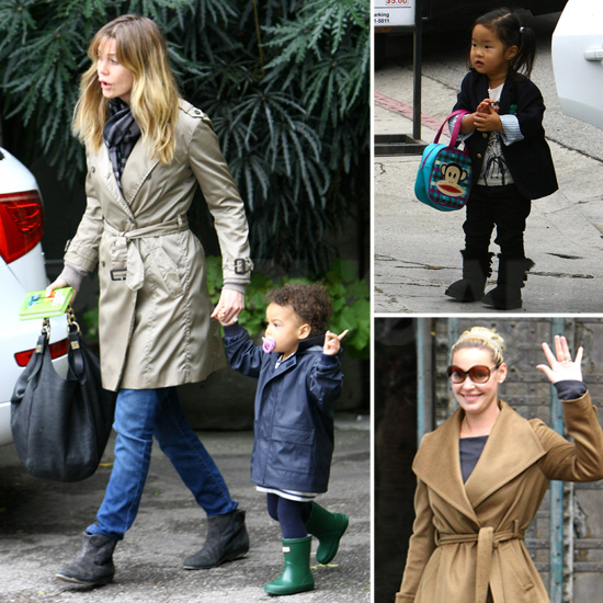 Katherine Heigl and Ellen Pompeo Have a Grey's Reunion at Lunch With the Girls