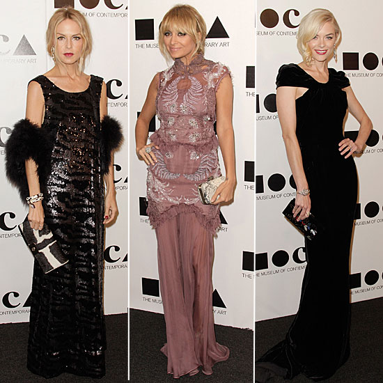 Stars Channel Megawatt Glamour at MoCA — Who's Most Fab?
