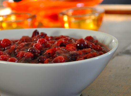 Caramelized Onion Cranberry Sauce