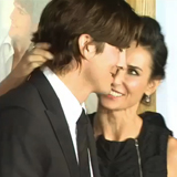 Demi Moore and Ashton Kutcher's Divorce Announcement