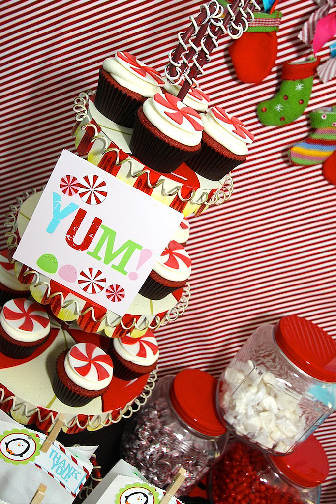 More Yummy Winter Candy Land Cupcakes