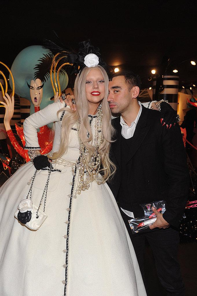 Gaga's Workshop at Barneys New York