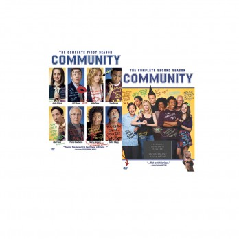 Community: Season 1-2 DVD Bundle ($86)