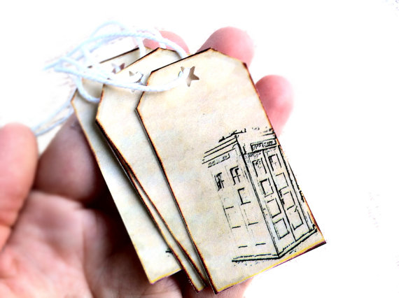 Doctor Who Gift Tags