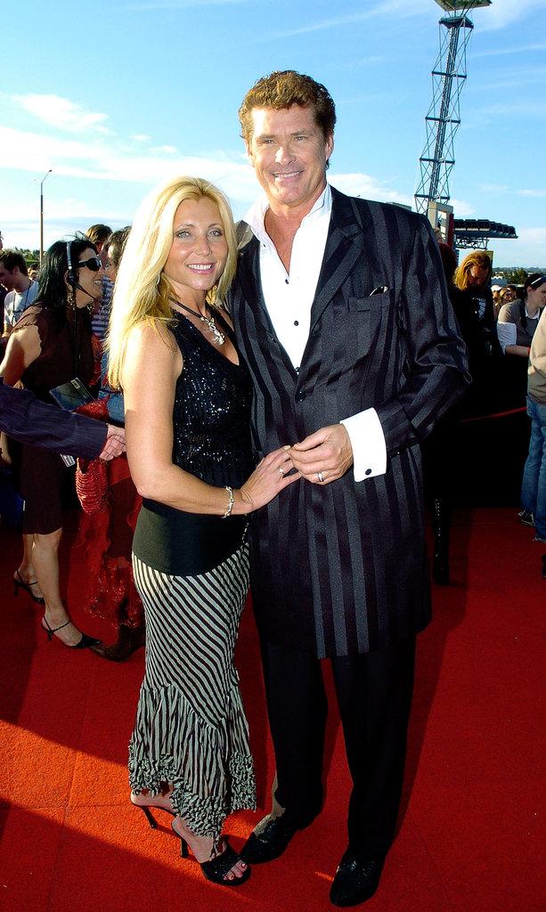 2005: David Hasselhoff