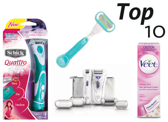 10 of the Best Hair Removal Products