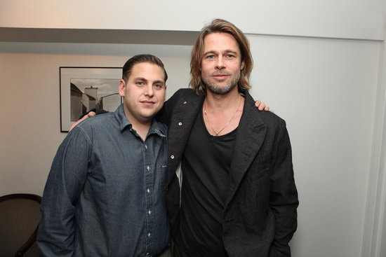 Brad Pitt LA Screening of Moneyball Pictures
