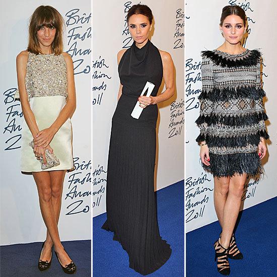 British Fashion Awards Red Carpet 2011