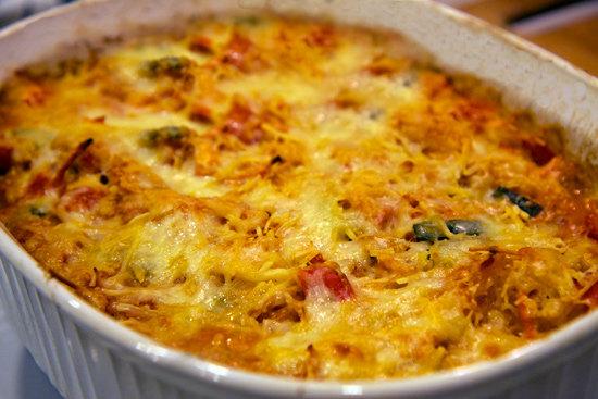 "Cheesy Veggie ""Pasta"" Bake"
