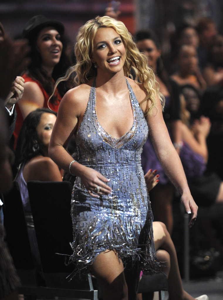She got glam at the MTV Video Music Awards in 2008.