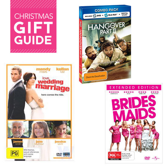 Christmas Gift Ideas: Wedding Movies Including Bridesmaids, The Hangover 2 and More!