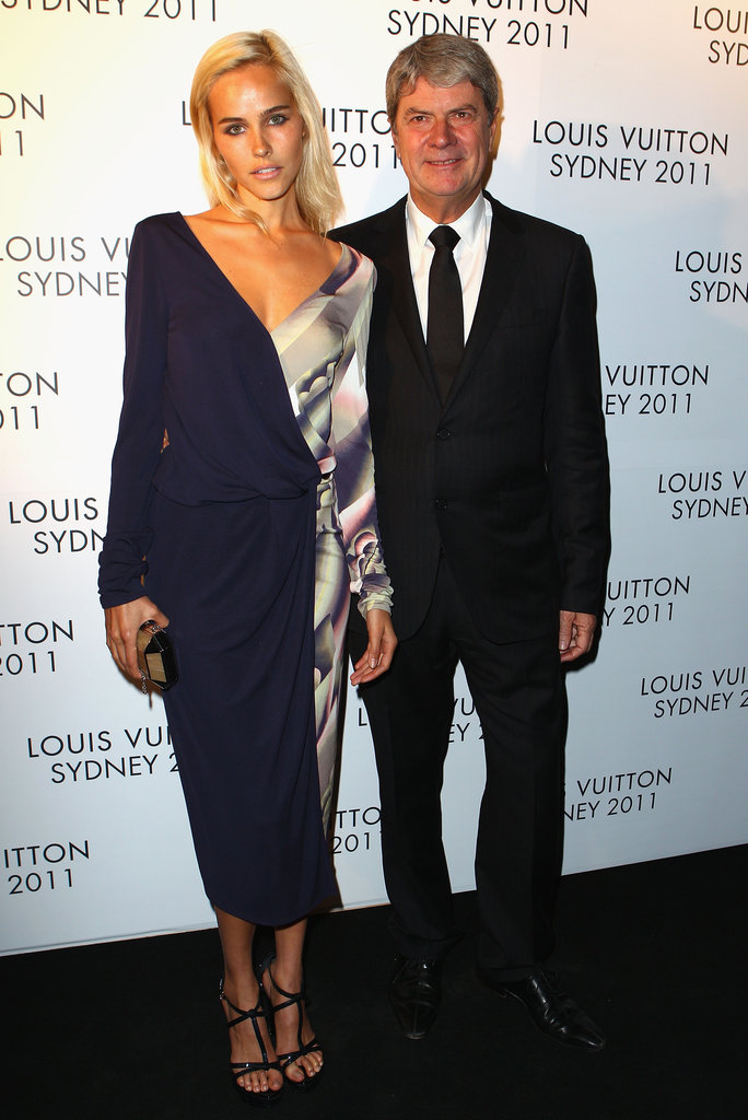 Isabel Lucas and Yves Carcelle