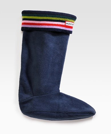 Hunter Welly Stripe Sock Liner