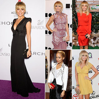 Nicole Richie With House of Harlow Clutches December 2011