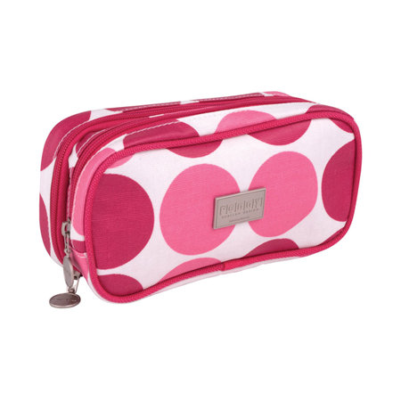 Penny Scallan Pink Spot Makeup Bag Spot, $29.95