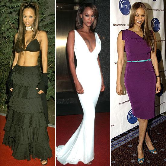 Tyra Banks Style Evolution
