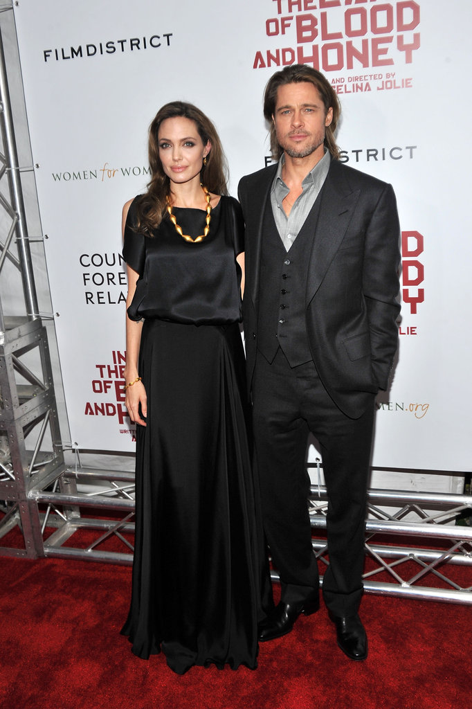 Brad Pitt came out to support Angelina Jolie at her directorial debut.