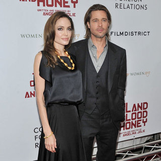 Angelina Jolie and Brad Pitt at In the Land of Blood and Honey NYC Premiere