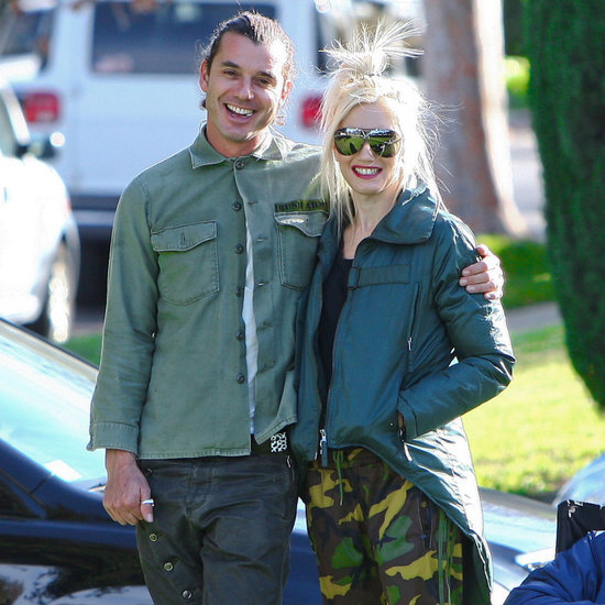Gwen Stefani and Gavin Rossdale Play With Zuma and Kingston