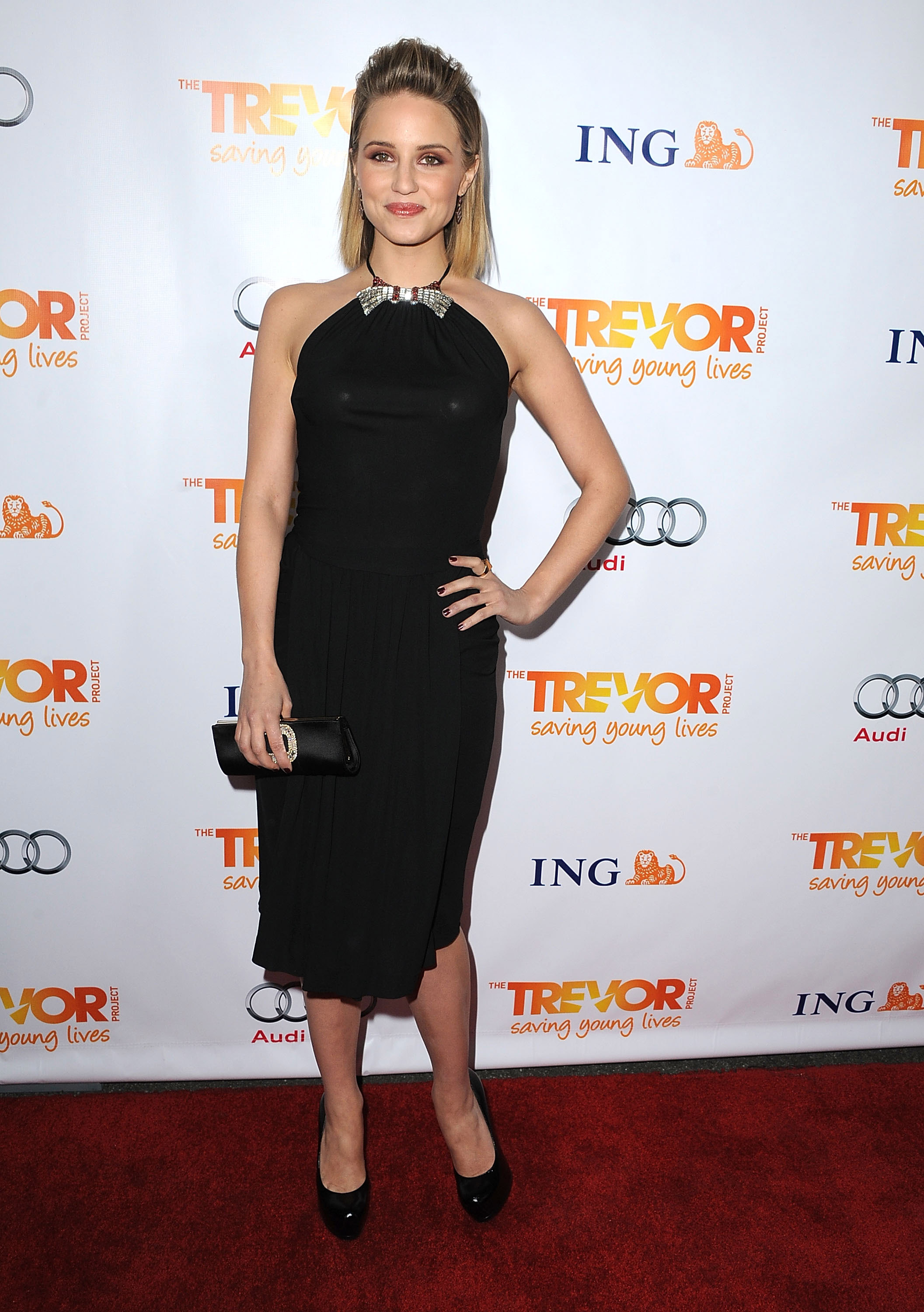 Dianna Agron dress