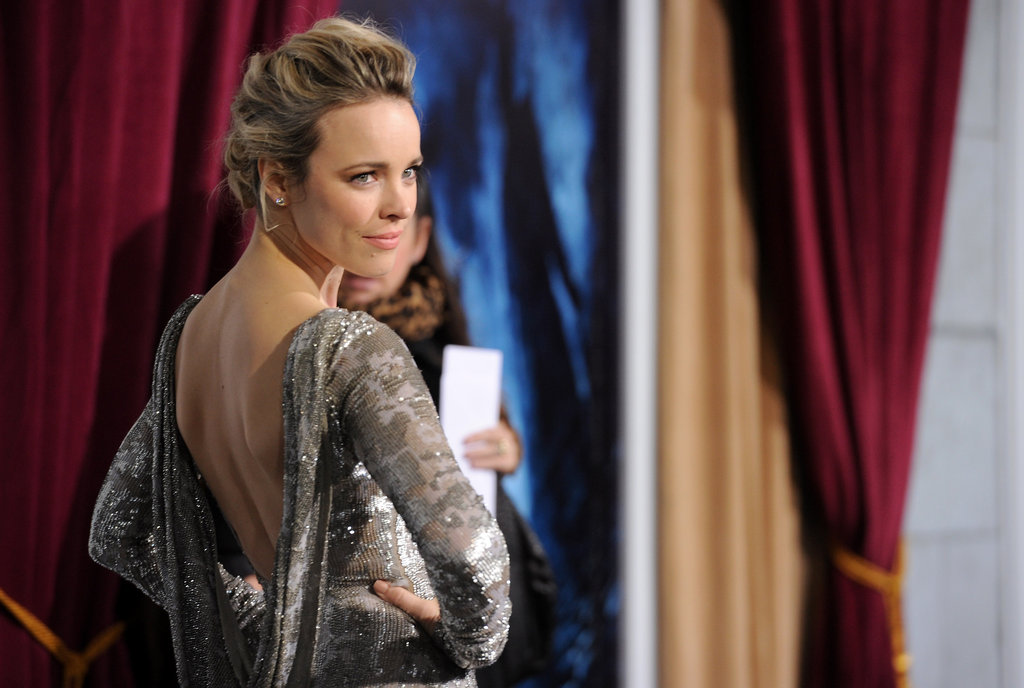 Rachel McAdams in Marchesa Pictures for Sherlock Holmes ...