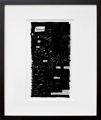 """Austin Kleon """"Agoraphobia"""" Print"""