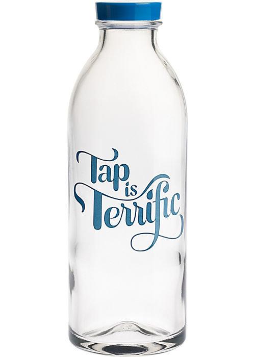 """""""Tap Is Terrific"""" Water Bottle"""