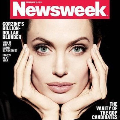 Angelina Jolie Stunning Newsweek Cover Picture