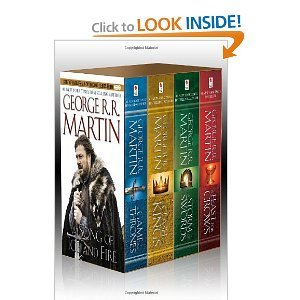 George R. R. Martin's A Game of Thrones 4-Book Boxed Set ($20)