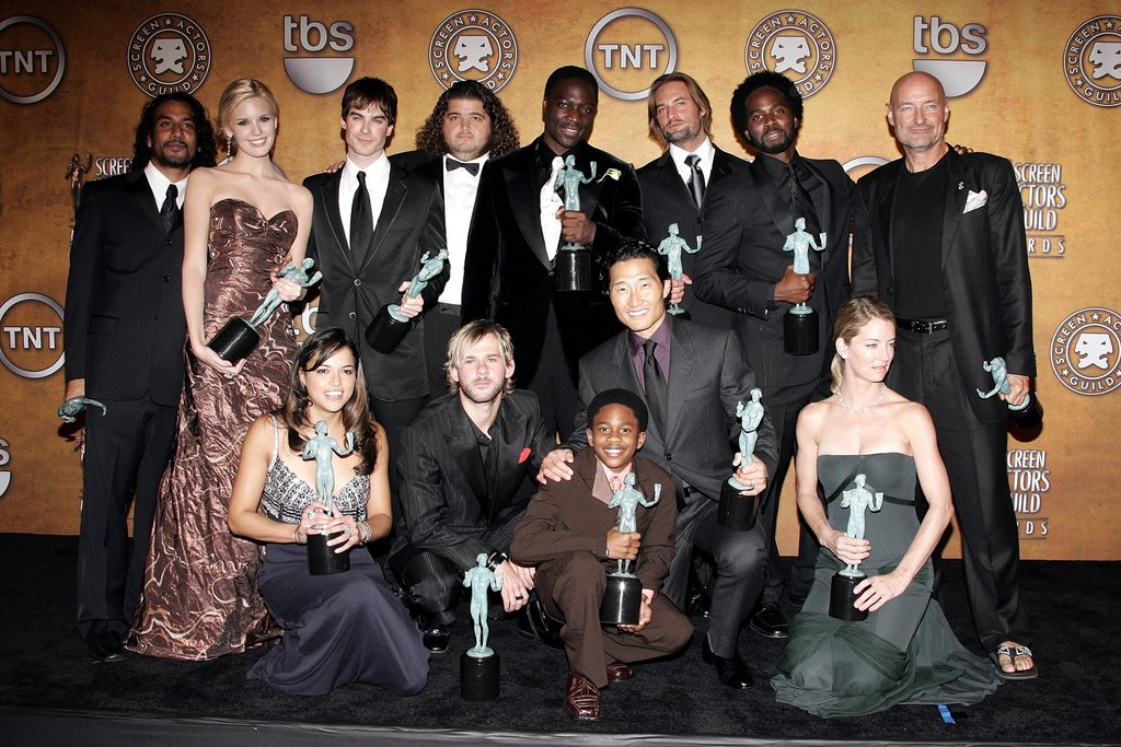Ian Somerhalder suited up in a dashing ensemble and joined his Lost castmates at LA's 2006 SAG Awards, where they took home statues for outstanding performance by an ensemble in a drama series.