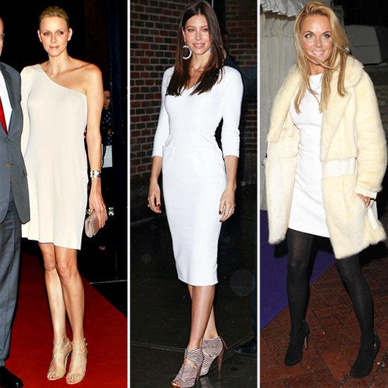 Trendy Winter White Dresses for 2011