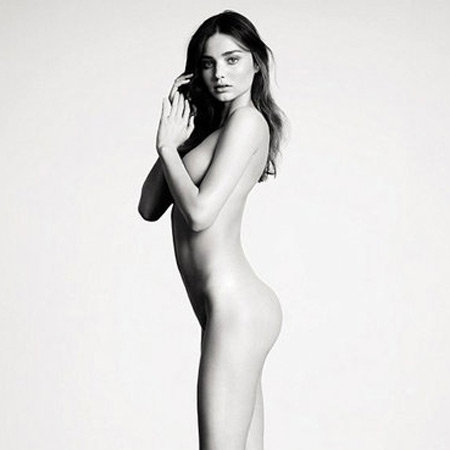 Nude Miranda Kerr Pictures in Industrie Magazine