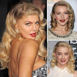 Celebrities Go Retro on the Red Carpet