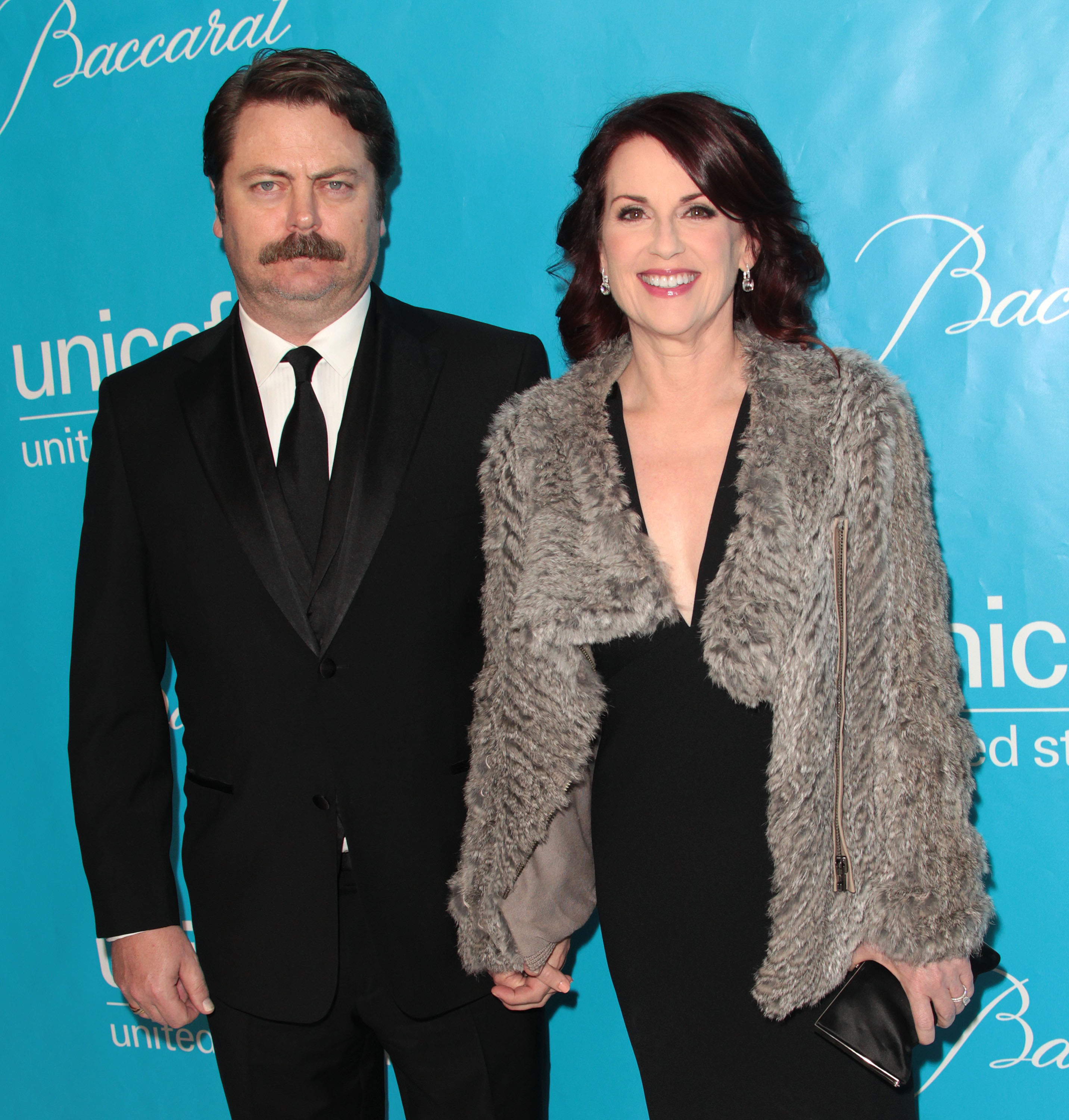Nick Offerman and Megan Mullally were in attendance at ...