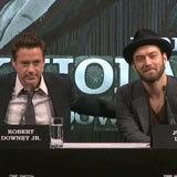Robert Downey Jr. Sherlock Holmes Press Conference (Video)