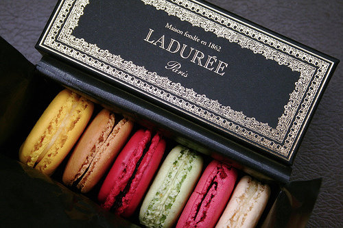 """With Ladurée's brand-new NYC location, I'm treating my family to a dose of the Parisian's insanely addictive macaroons that would also make a perfect holiday hostess gift — no one can resist them!"" — Hannah Weil, assistant editor  Ladurée Macaroons"