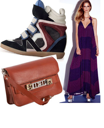 The Fashion Editor's Christmas Wish List: Isabel Marant Sneakers, Zimmermann Swimwear, Proenza Schouler Bag & more!