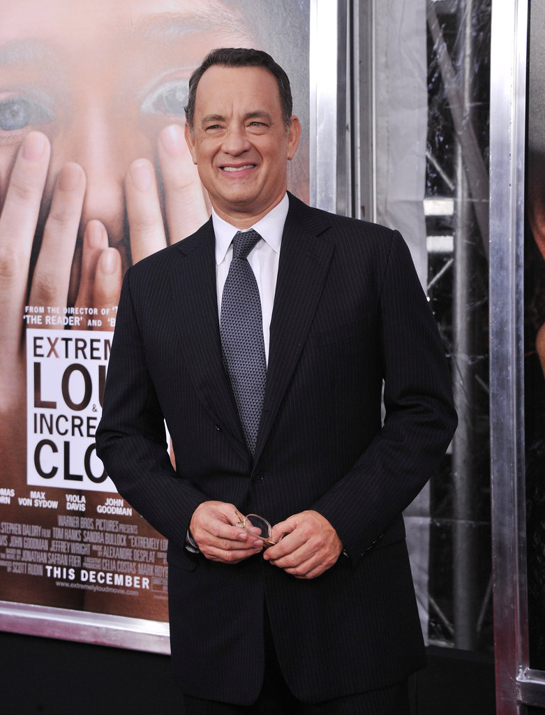 Tom Hanks stepped out to support his new film, Extremely Loud and Incredibly Close.