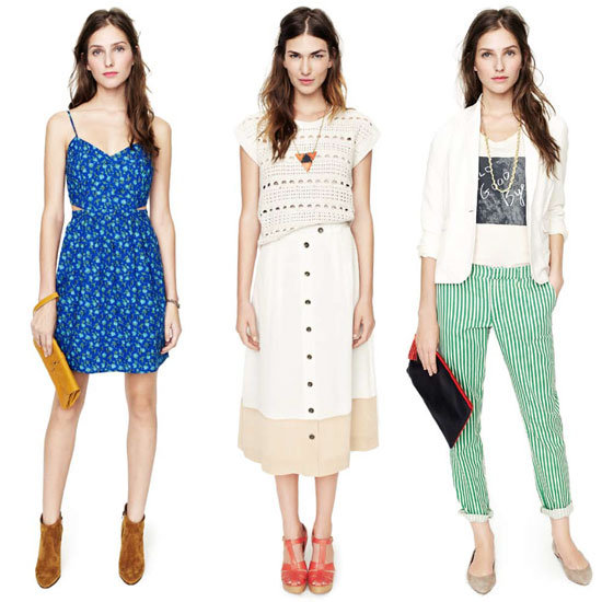Madewell's Spring 2012 Look Book Has Us Excited for Summer Style: Candy Stripes, Flared Jeans, Colour Blocking