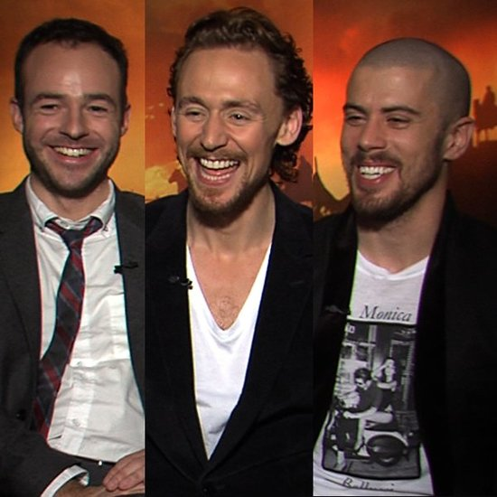 Video: Tom Hiddleston and Toby Kebbell on Spielberg Roles