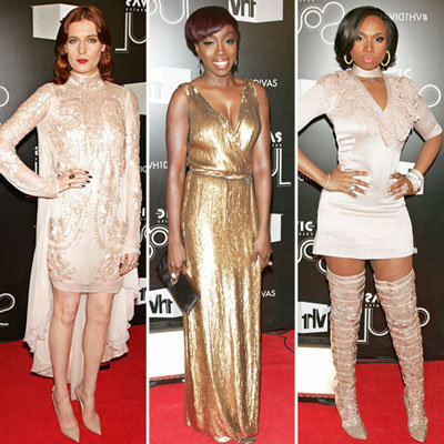VH1 Divas Celebrates Soul Red Carpet 2011