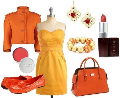 Designer Tangerine Clothing
