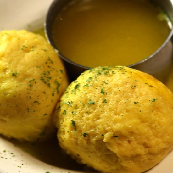 Carnegie Deli Matzoh Ball Soup Recipe