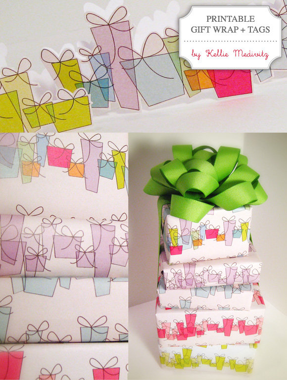 Free Printable Gift Wrapping Paper