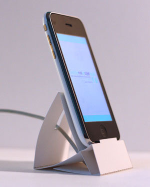 Paper iPhone Stand