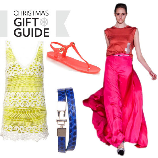 Best Fashionable Last Minute Bright Buys for Xmas: Shop Our Christmas Gift Guide via Zimmermann, Sportsgirl, Forever New...