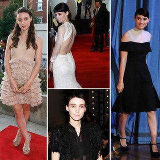 Pictures of The Girl With The Dragon Tattoo Star Rooney Mara Style Evolution over the Years: From Jeans to Givenchy!
